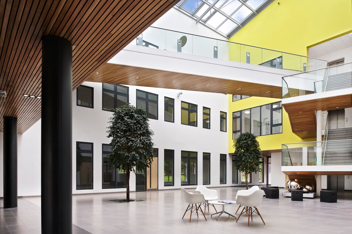 Interior Photograph of West of Scotland Science Park Glasgow