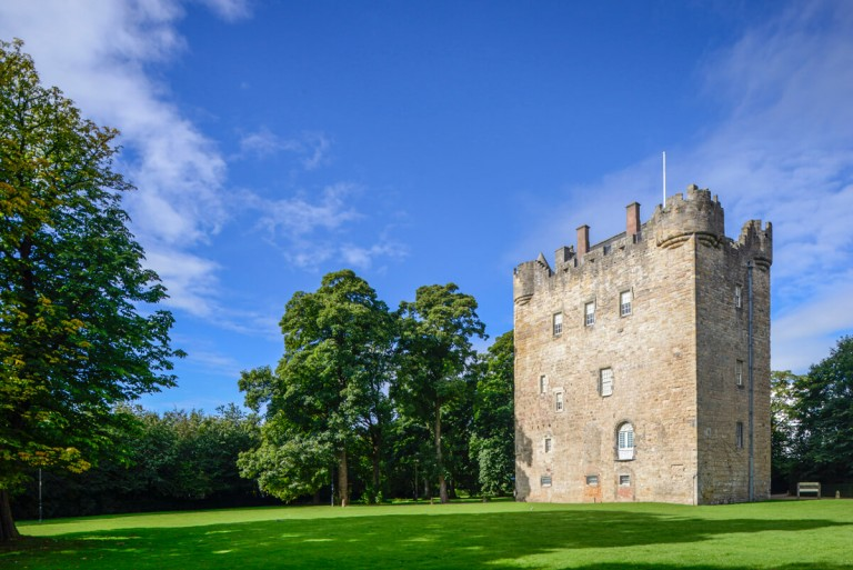 Landscape Photography of Alloa Tower