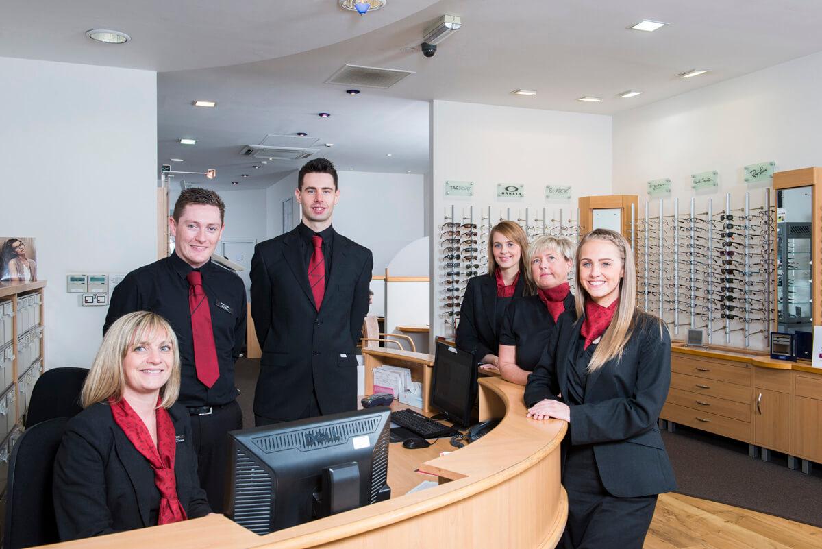 Team Staff Portrait Glasgow