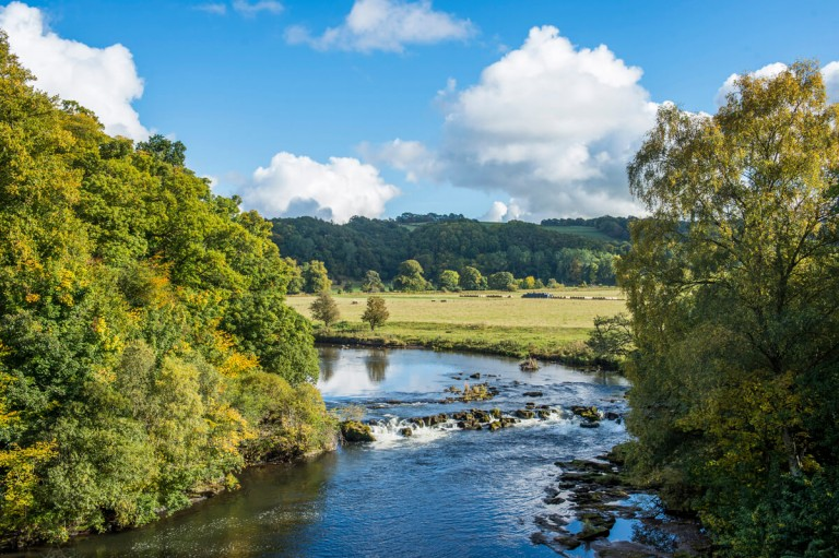 Landscape Photography of Clyde Valley