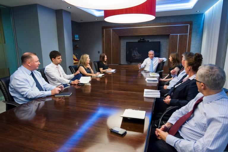 Corporate Boardroom Portrait Glasgow