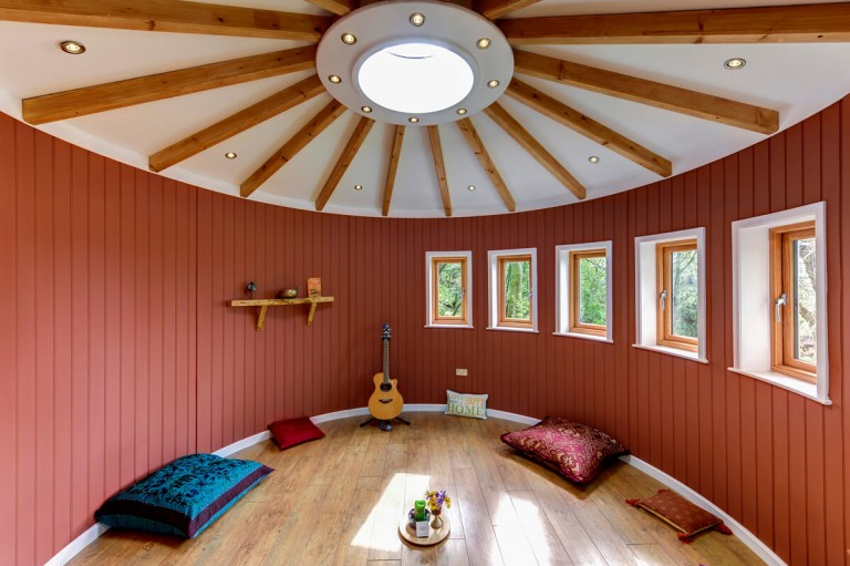 Interior of Summer House near Glasgow