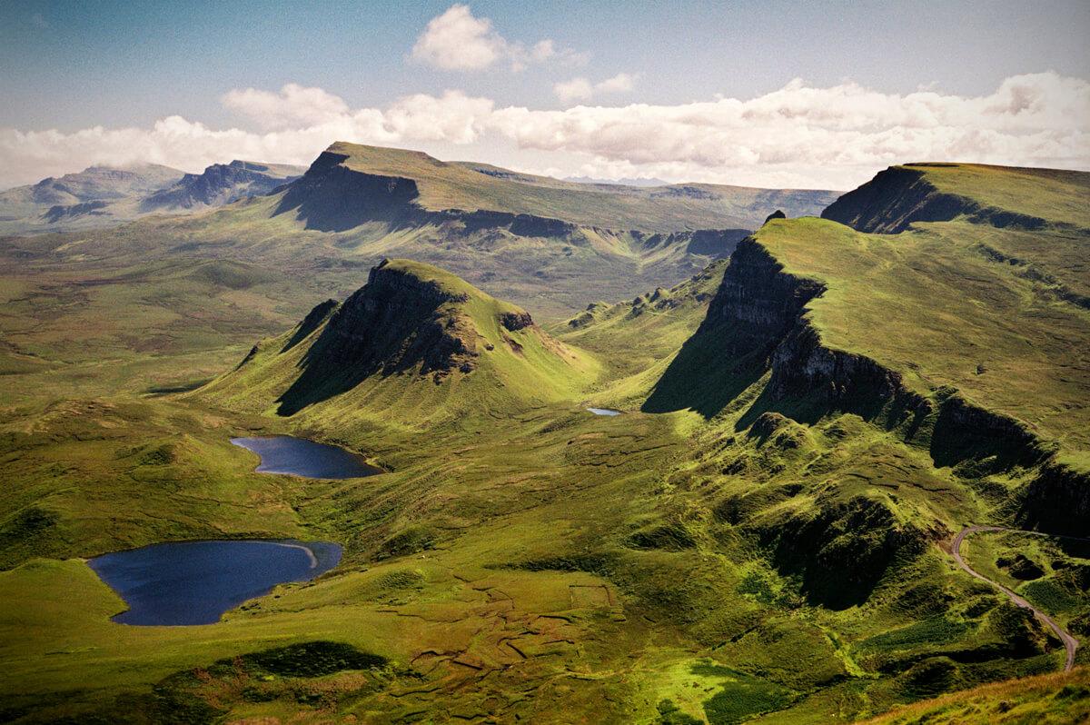 Landscape Photography of Trotternish Skye
