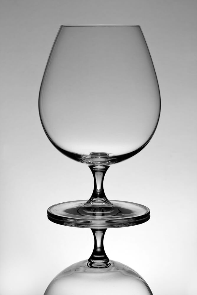 Product Photography of Glass