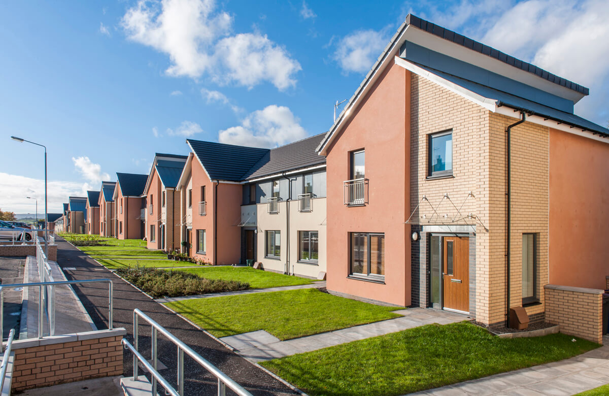 Housing Association Debvelopment in Paisley, near Glasgow