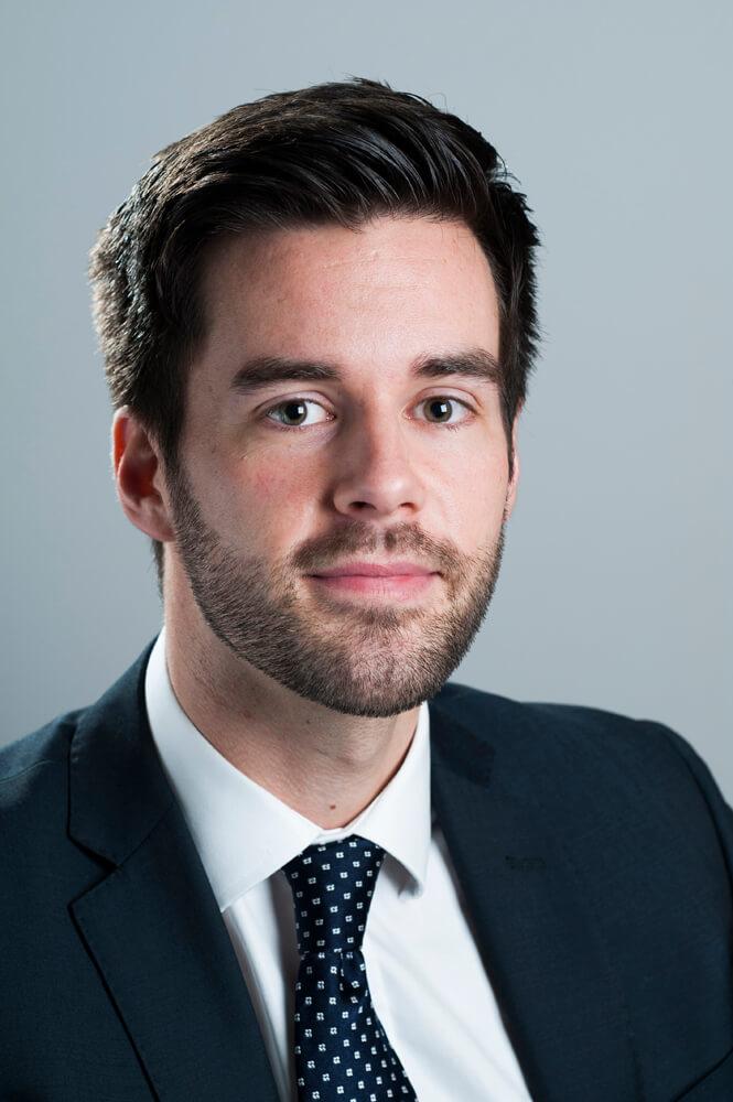Glasgow Business Headshot for Corporate Profile on LinkedIn