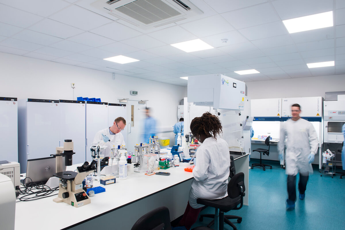 Commercial Photography of Glasgow Laboratory
