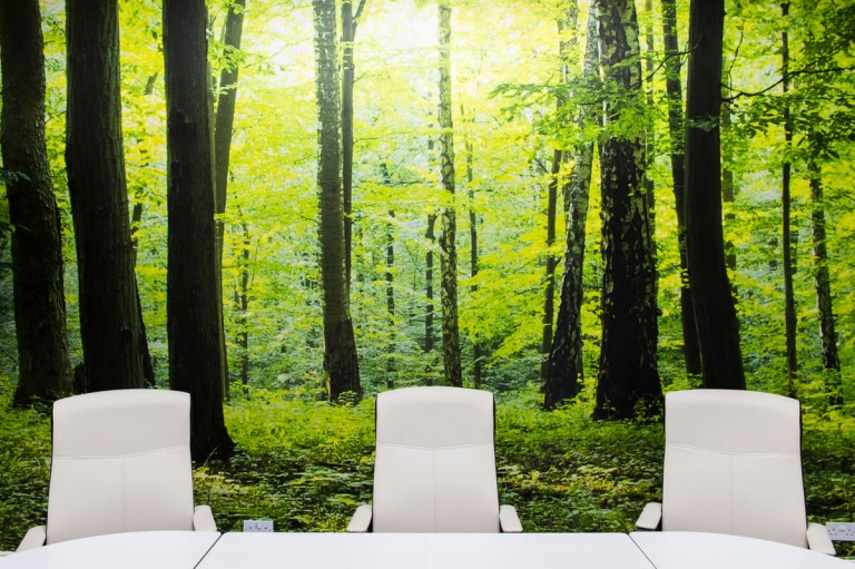 Detail of Office Interior Photography Glasgow