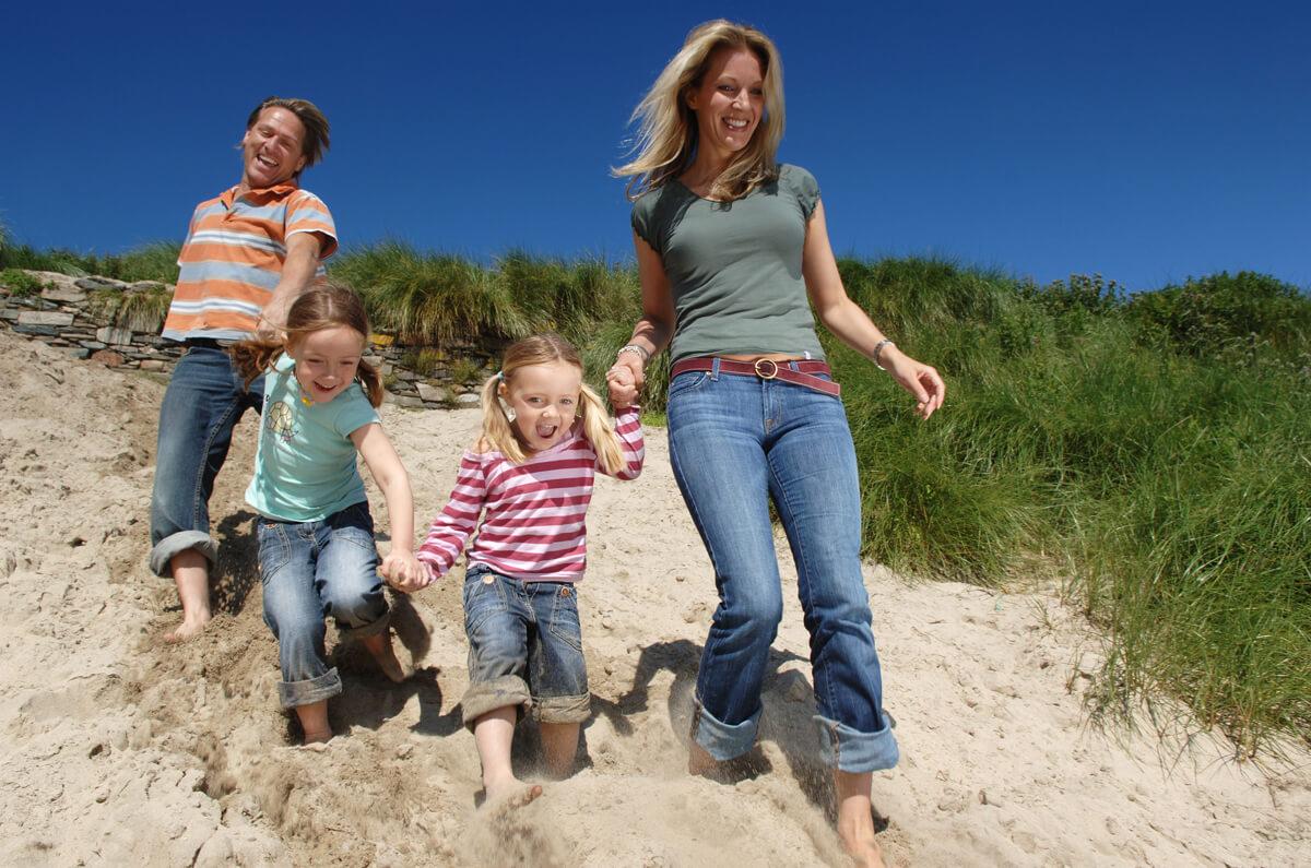 Visit Scotland Lifestyle Shoot for Tourist Brochure
