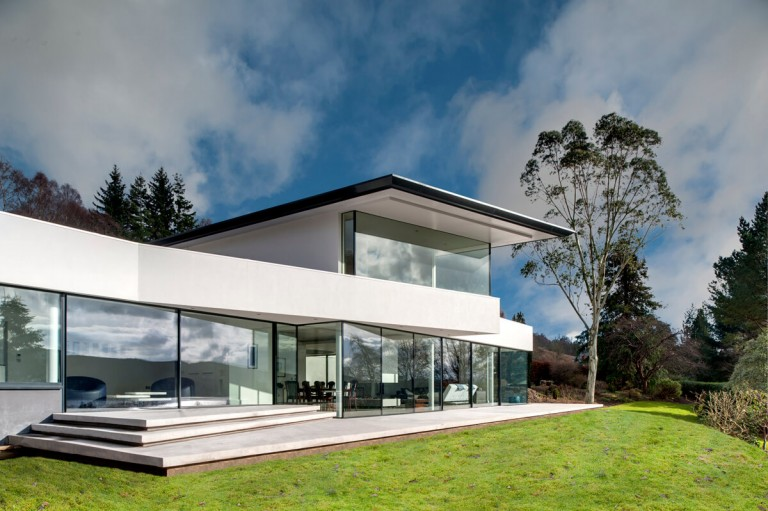 Architectural exterior by Glasgow architecural photographers