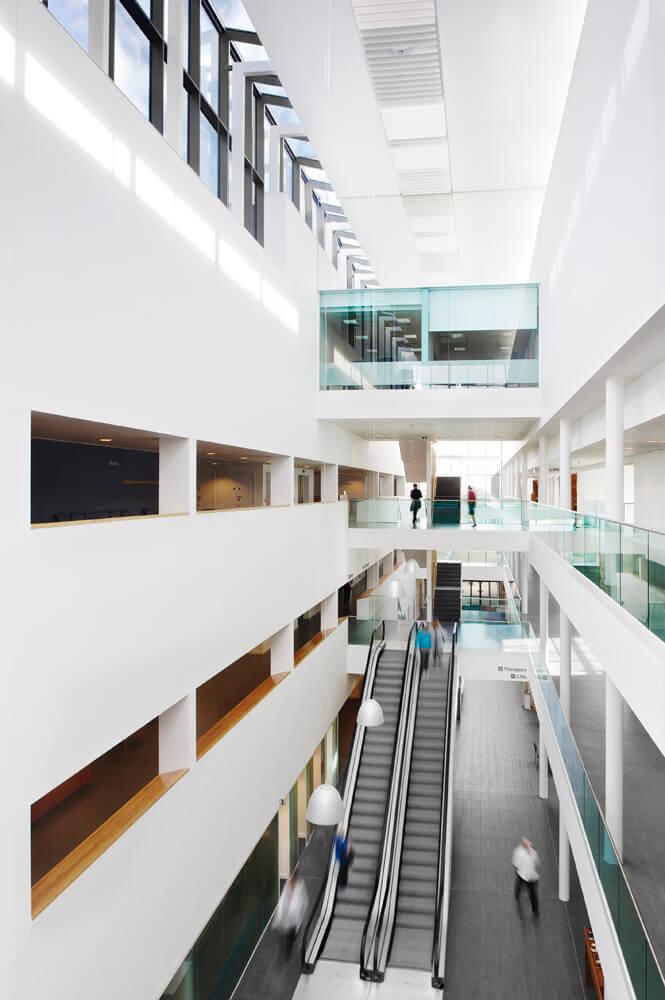 Architectural Interior of Stobhill-Hospital Glasgow