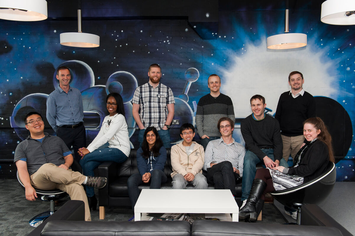 Corporate Team Photograph Glasgow
